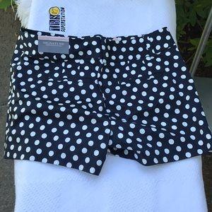 Poka Dot Shorts. NWT!